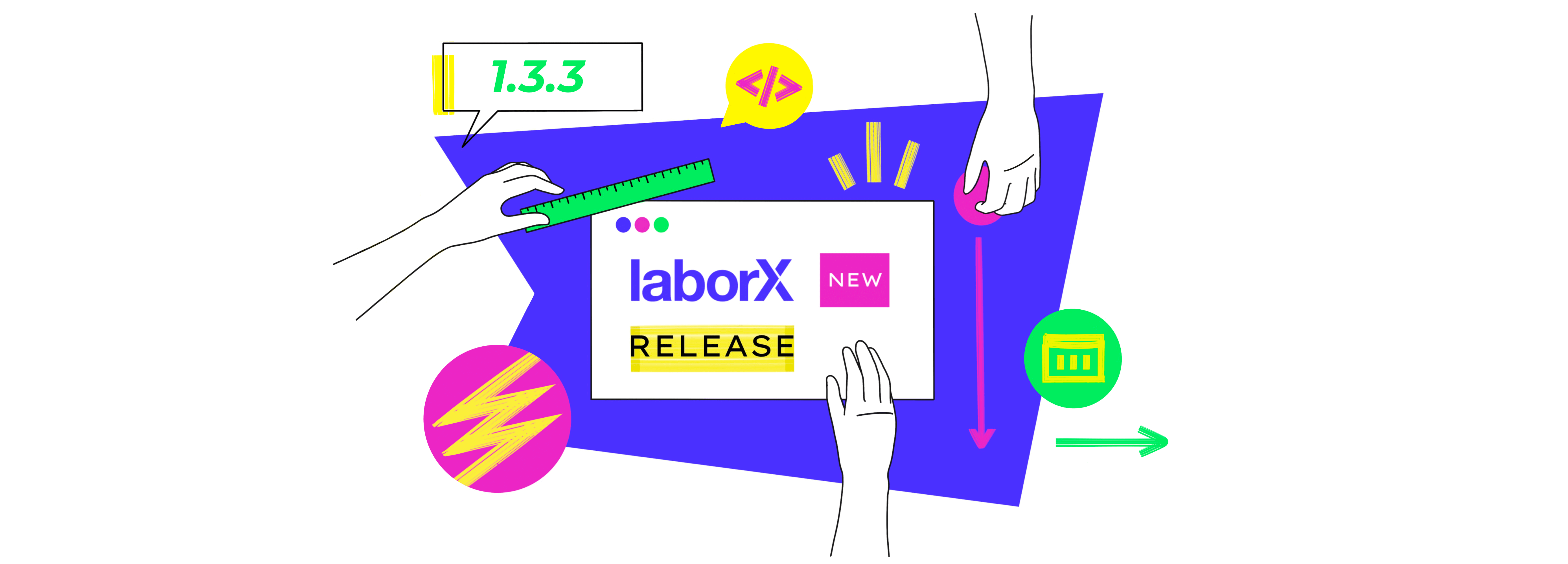 What's new in LaborX release 1.3.3?