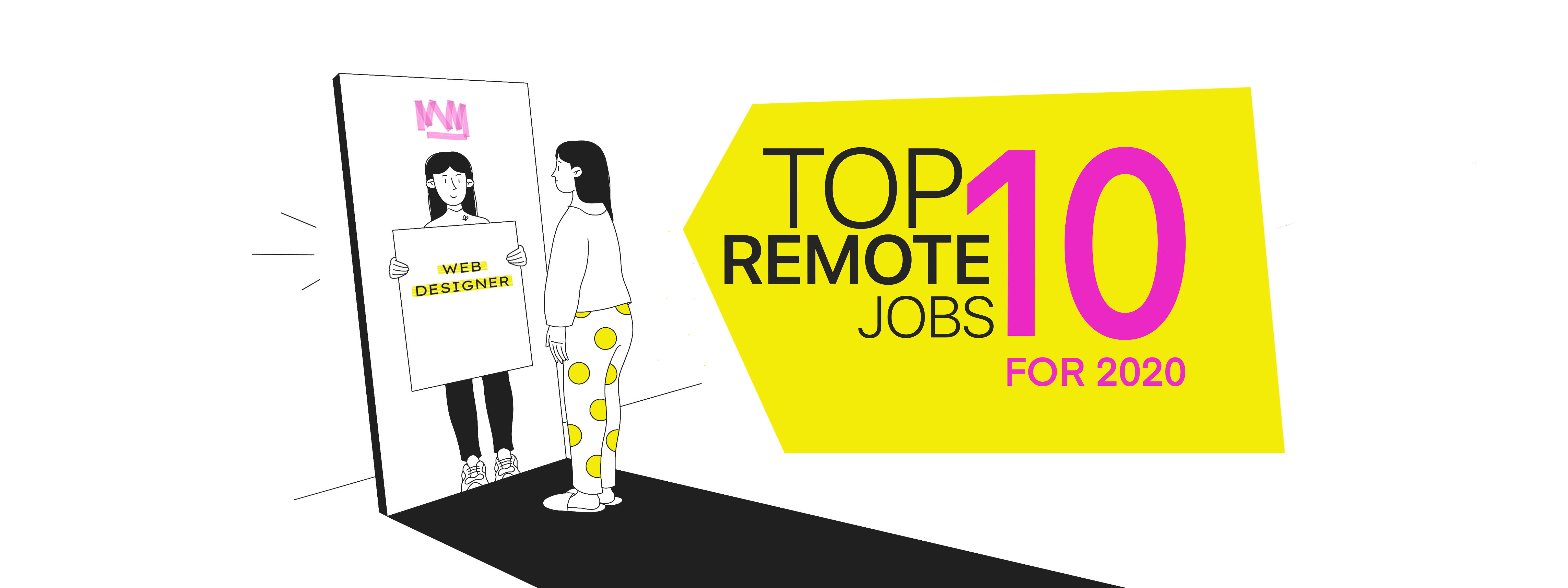 The top 10 remote jobs for 2020